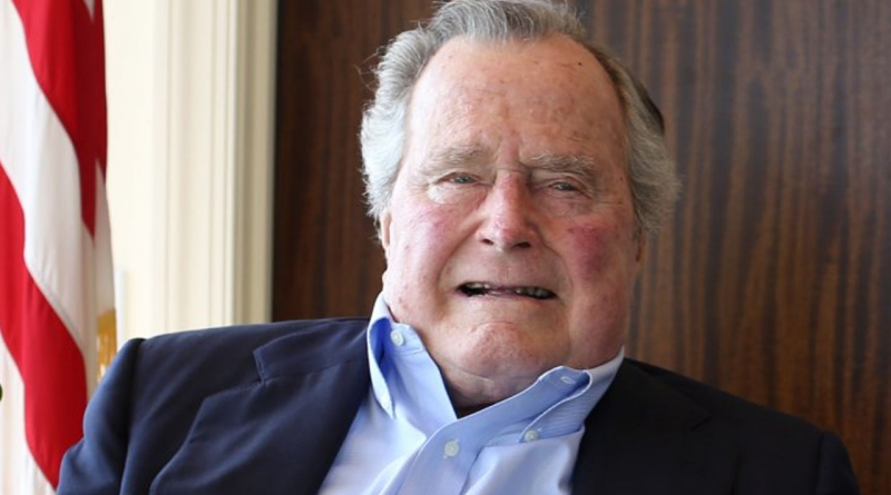 How did George H.W. Bush die cause of death age of death