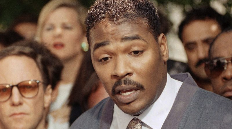 How did Rodney King die cause of death age of death
