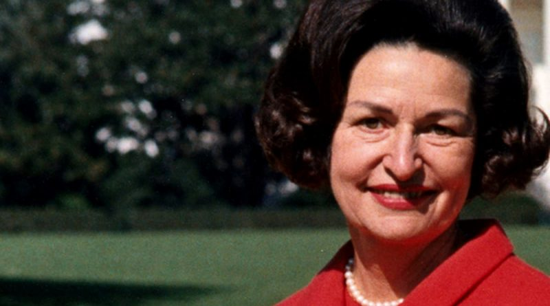 How did Lady Bird Johnson die cause of death age of death