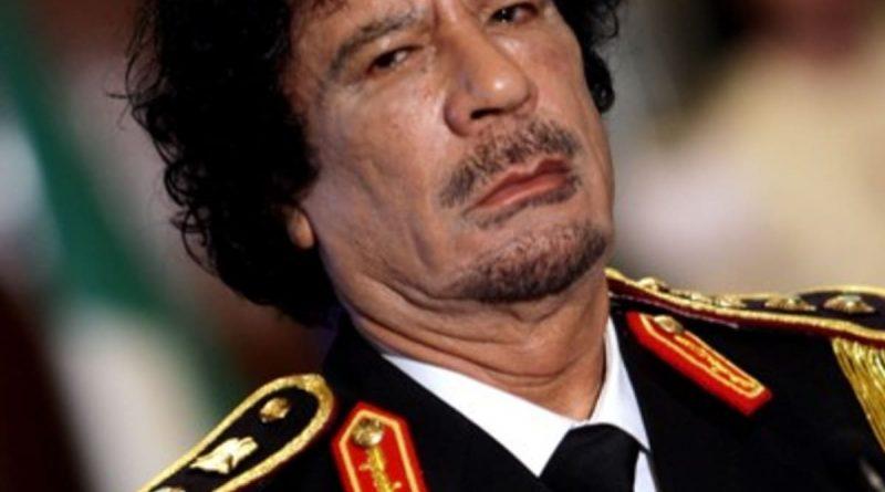 How did Muammar Gaddafi die cause of death age of death